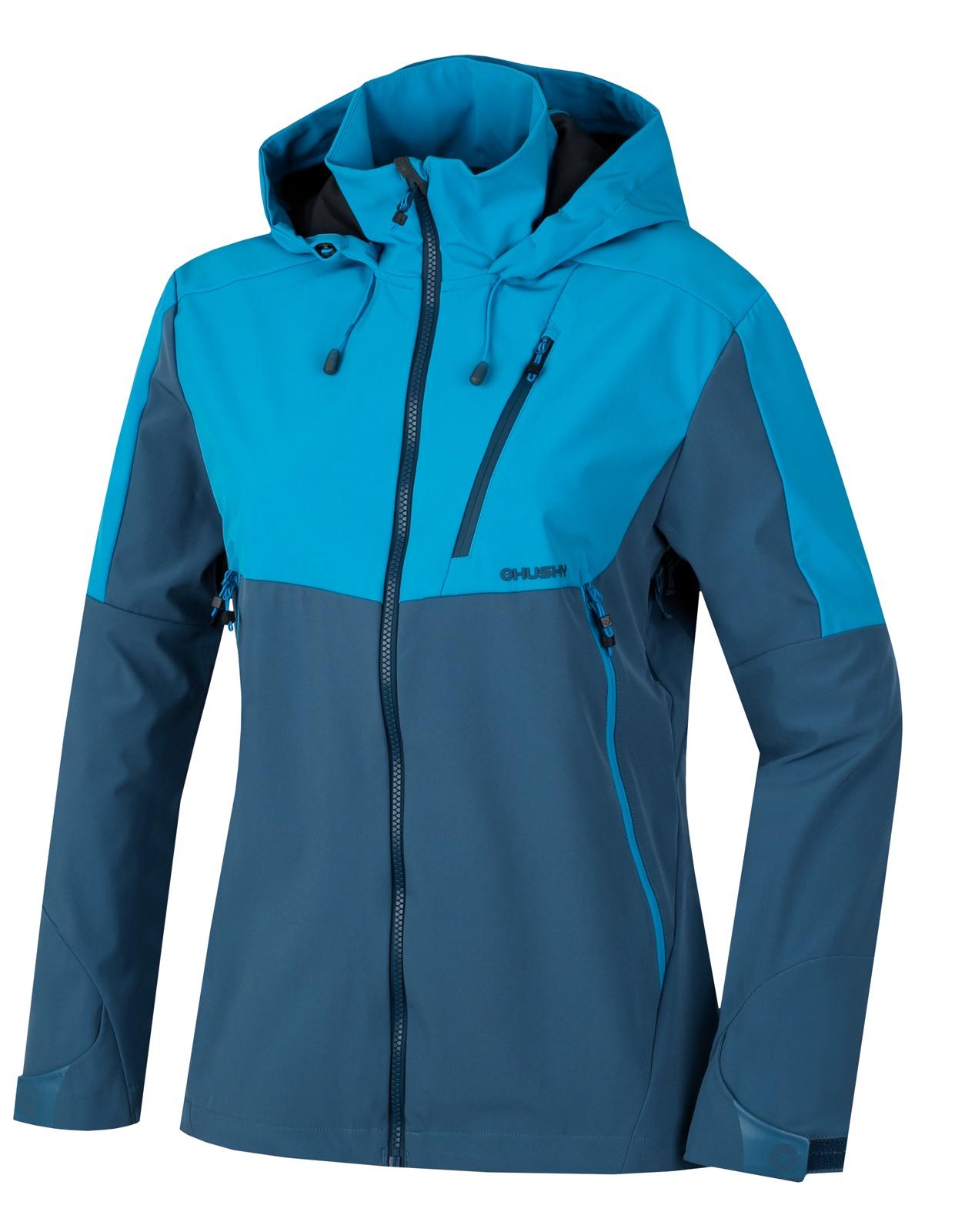 Husky Dámská outdoor bunda Sauri L modrá Velikost: S