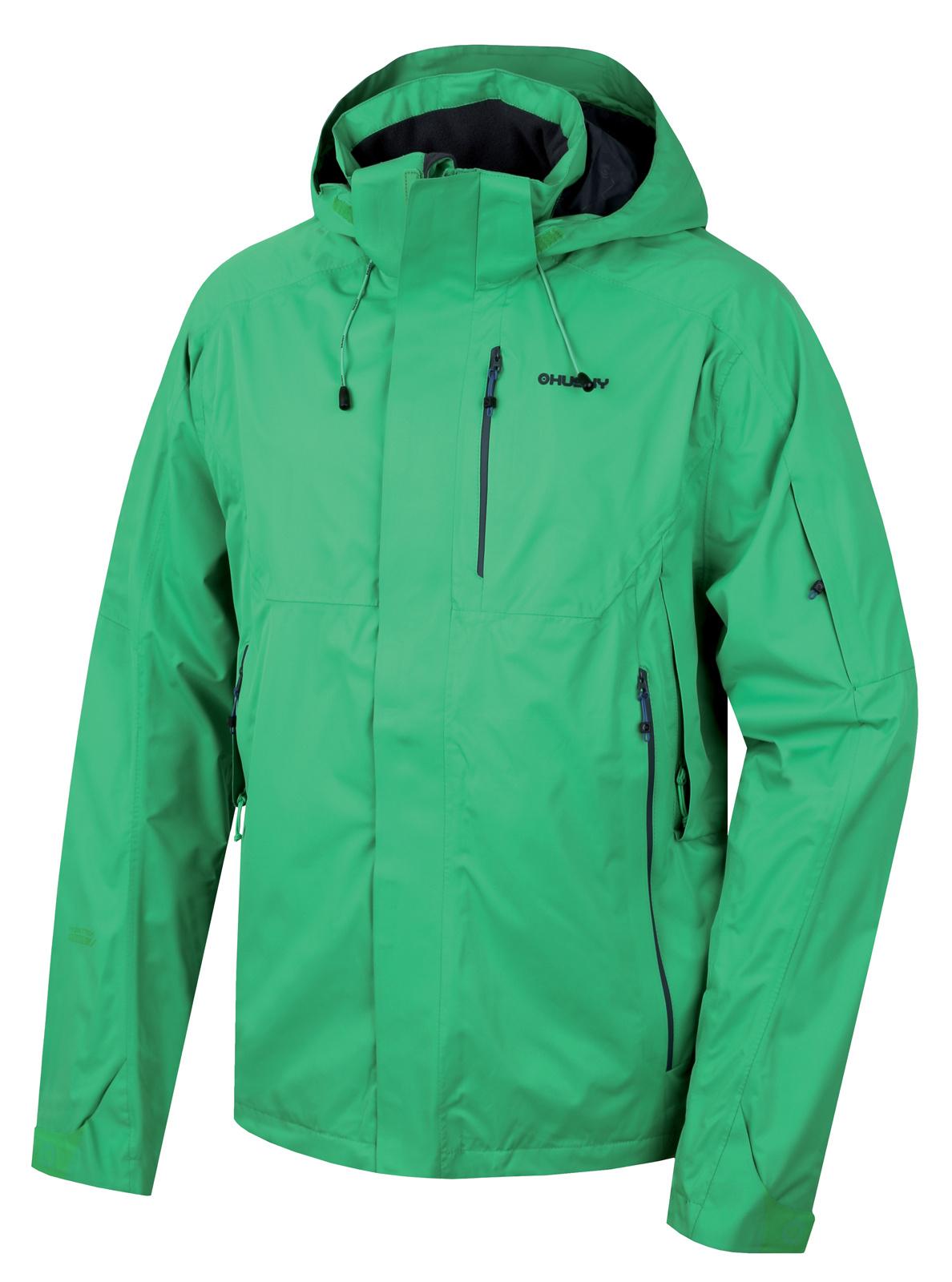 Husky Pánská outdoor bunda Neta M zelená Velikost: L
