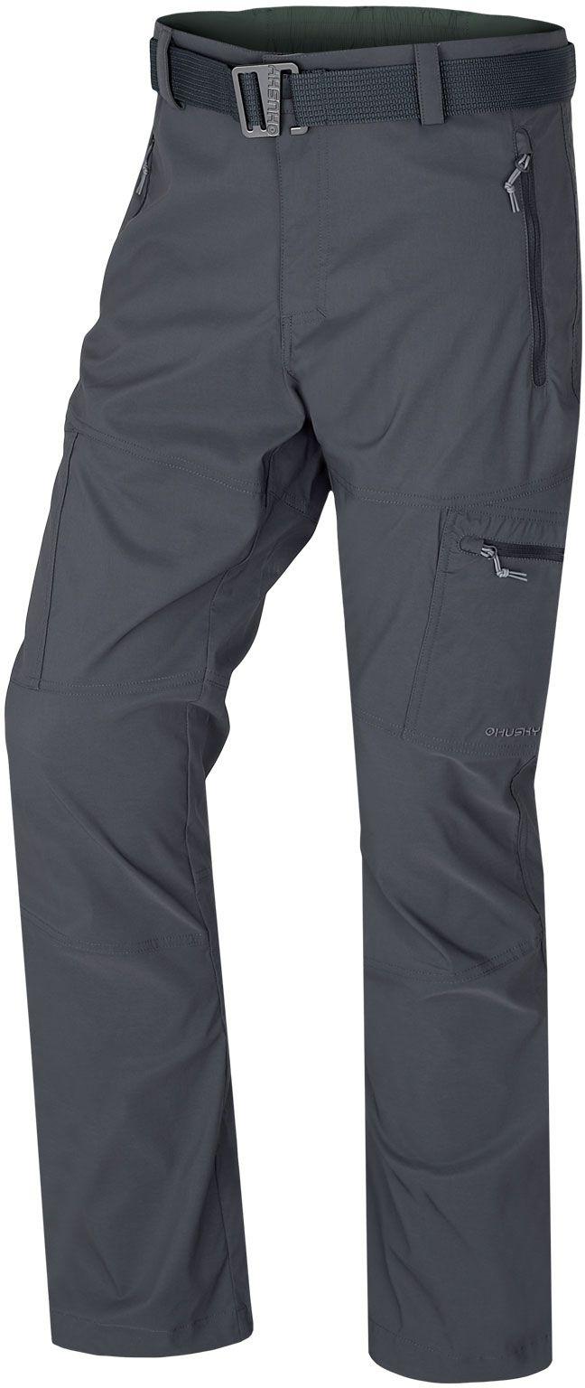 Husky Pánské outdoor kalhoty Kauby M tm. šedá Velikost: XL