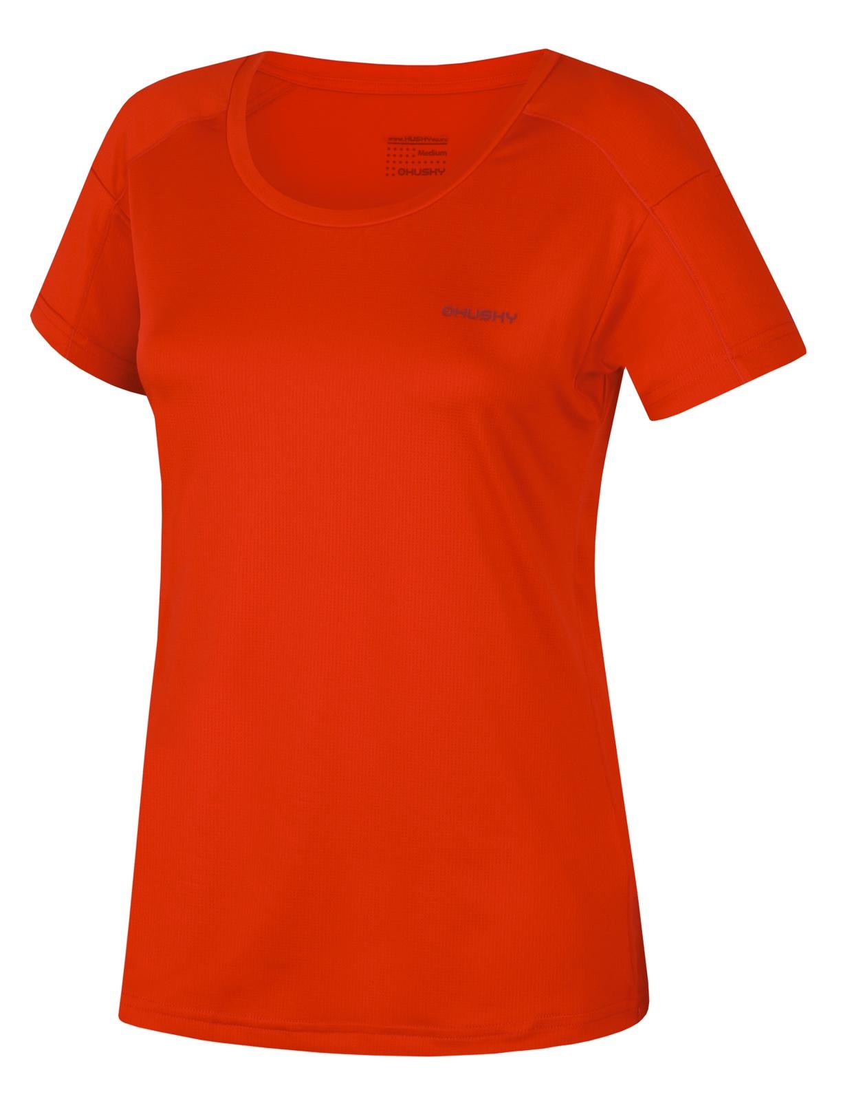 Husky Dámské triko Taury L červená Velikost: M