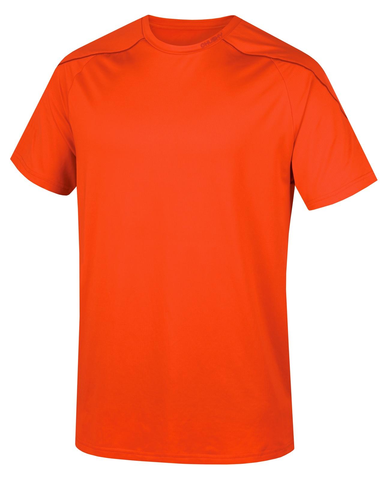 Husky Pánské triko Taury M sv. červená Velikost: M