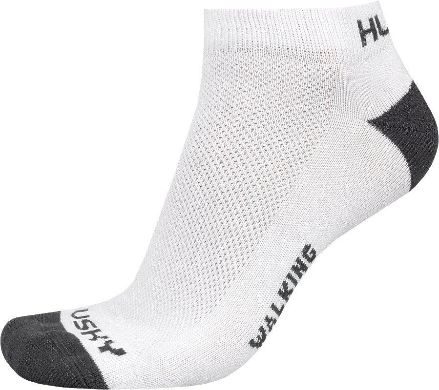 Husky Ponožky Walking bílá Velikost: M (36-40)