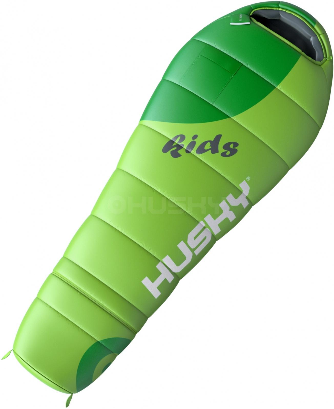 Husky Spacák Outdoor Kids Magic-12°C zelená