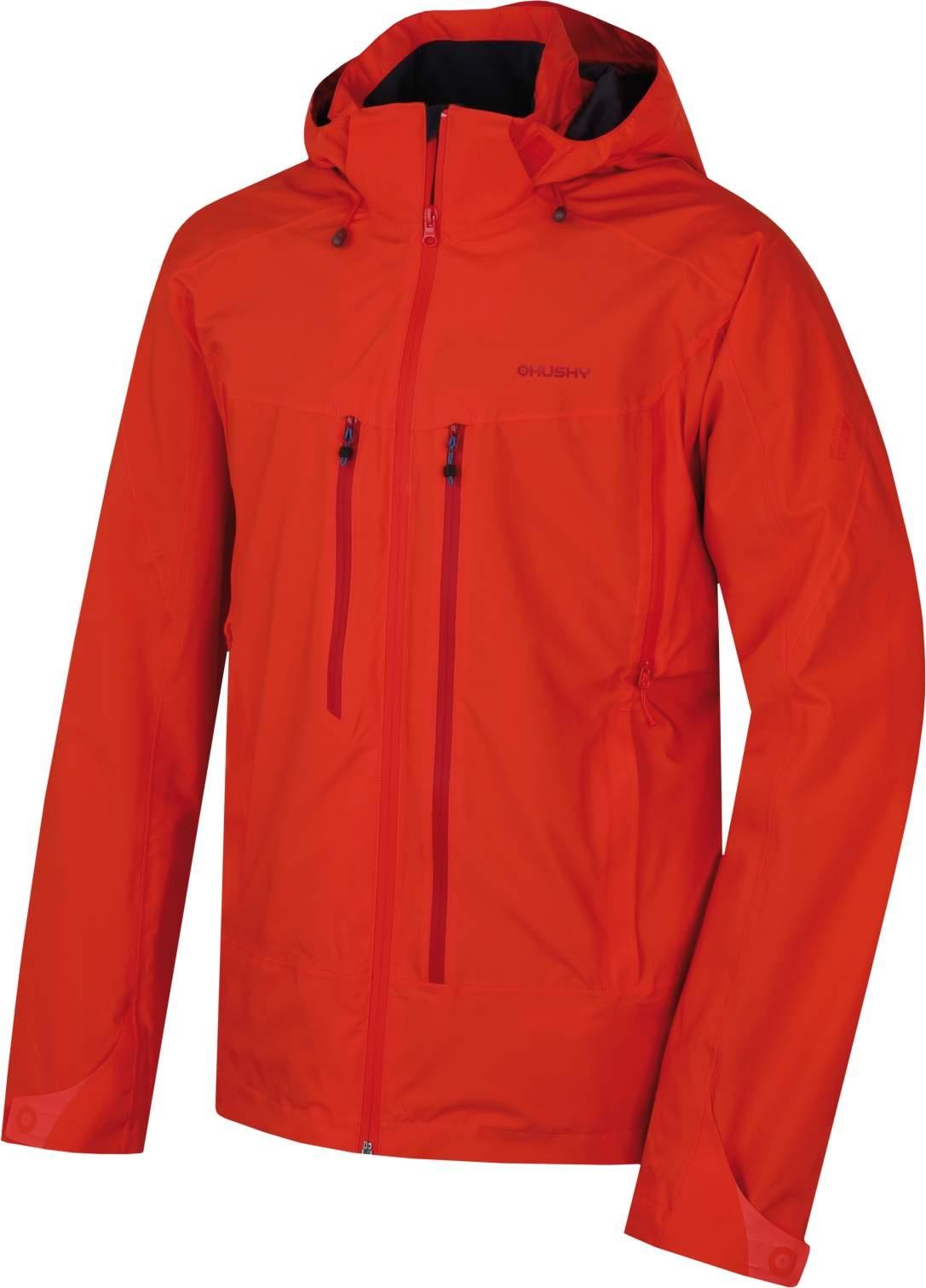 Husky Pánská outdoor bunda Nally M sv. červená Velikost: M