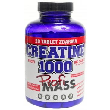 Profimass Profi Creatine 1000 - 200 tablet