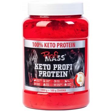 Profimass Keto Profi Protein BÍLÁ ČOKOLÁDA - 1100 g