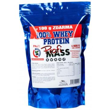Profimass Profi 100% Whey Protein BÍLÁ ČOKOLÁDA - 1100 g