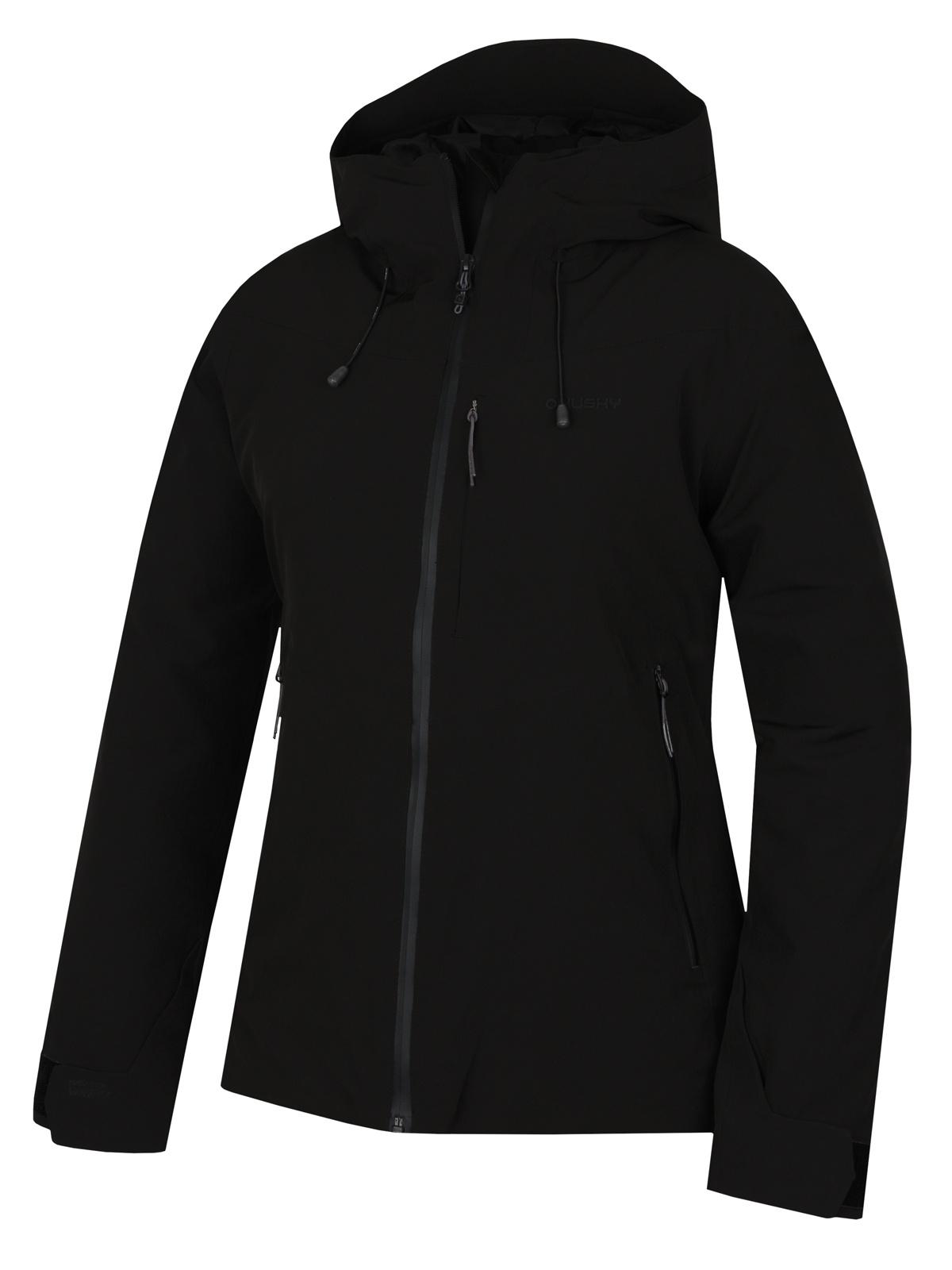 Husky Dámská hardshell bunda   Narbi L černá Velikost: XL