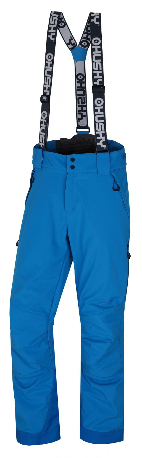 Husky Pánské lyžařské kalhoty Galti M modrá Velikost: XL