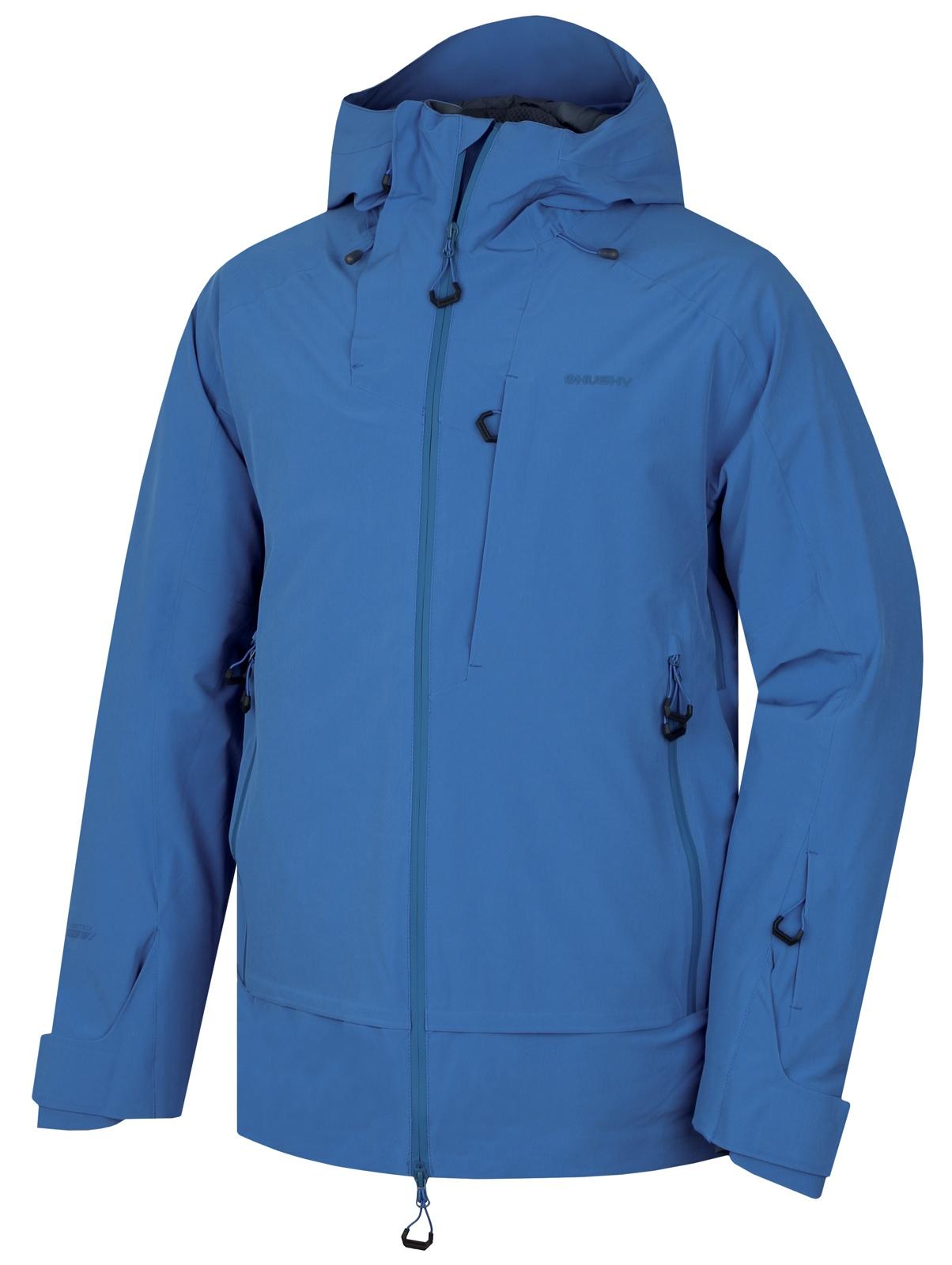 Husky Pánská lyžařská bunda Gombi M tm. modrá Velikost: L