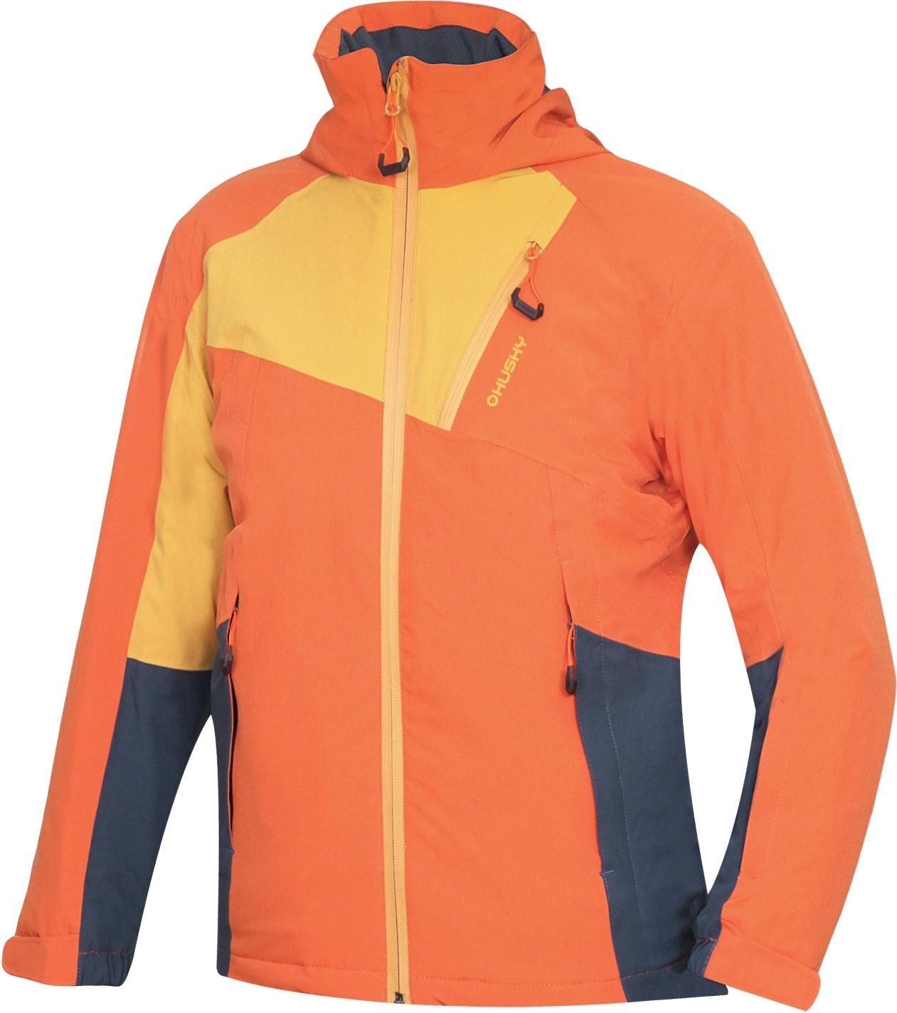 Husky Dětská ski bunda Zawi Kids tlumená oranžová Velikost: 134