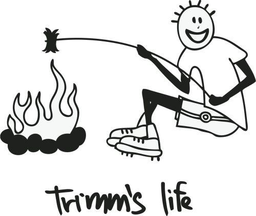 Trimmslife triko orange Velikost: XXL, Motivy: barbecue1