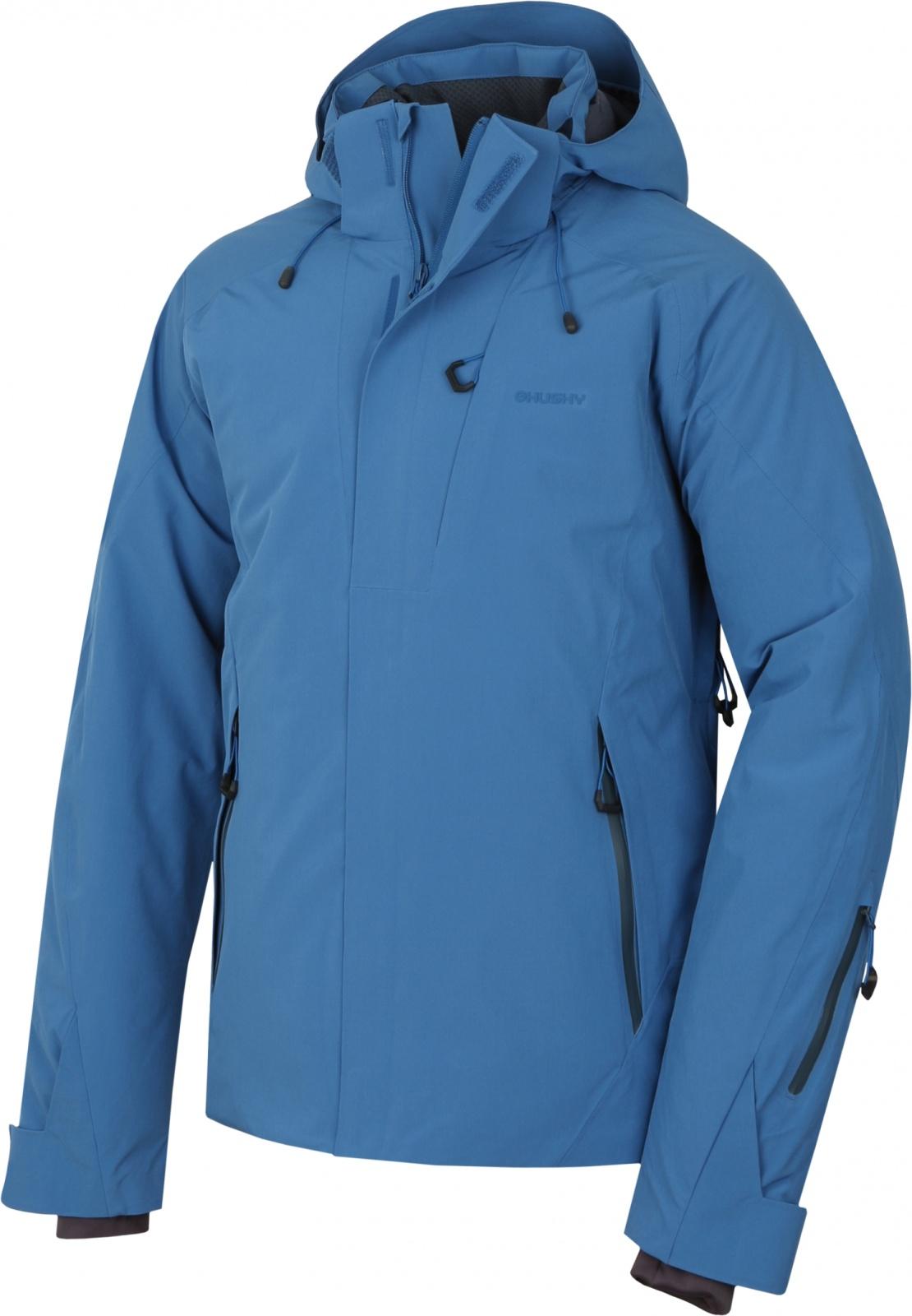 Husky Pánská lyžařská bunda Gopa M tm. modrá Velikost: L