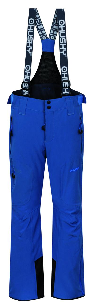 Husky Dětské lyžařské kalhoty Zeus Kids tm. modrá Velikost: 134-140
