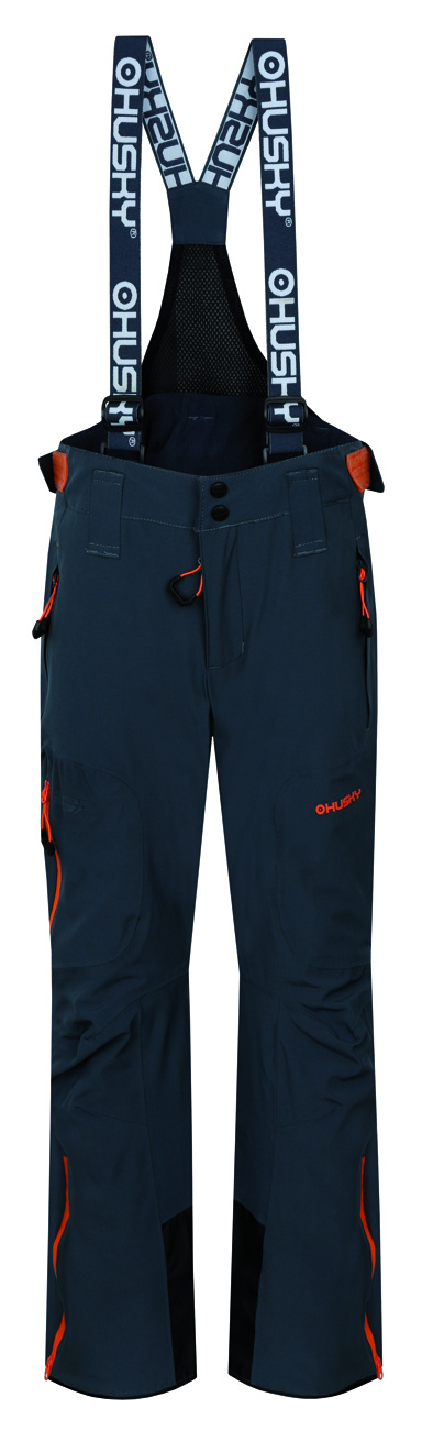 Husky Dětské lyžařské kalhoty Zeus Kids antracit Velikost  134-140 83921a868b