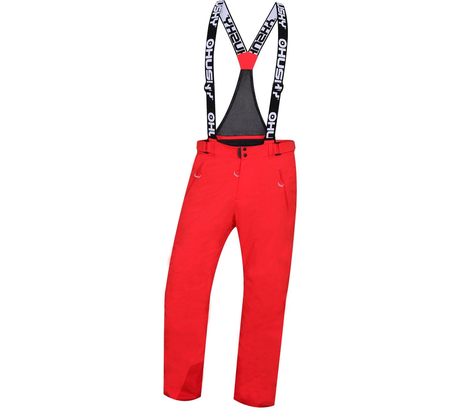 Husky Pánské lyžařské kalhoty Mithy M červená Velikost: XXL