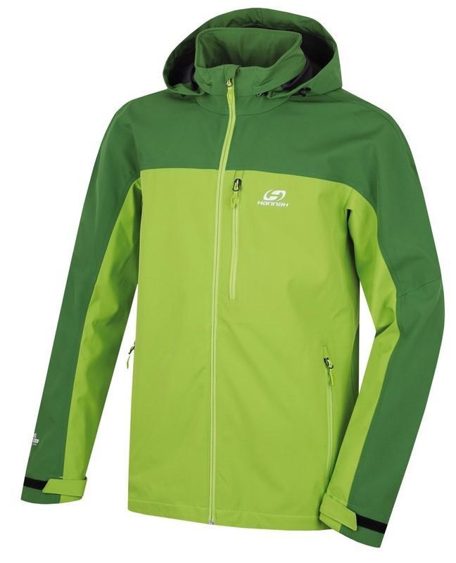 Hannah Brolin Lite Treetop/lime green Velikost: XXL pánská bunda