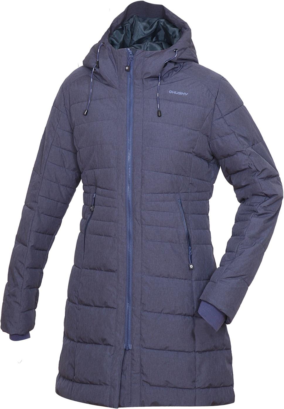 Husky Dámský zimní kabátek Normy L modrofialová Velikost: S