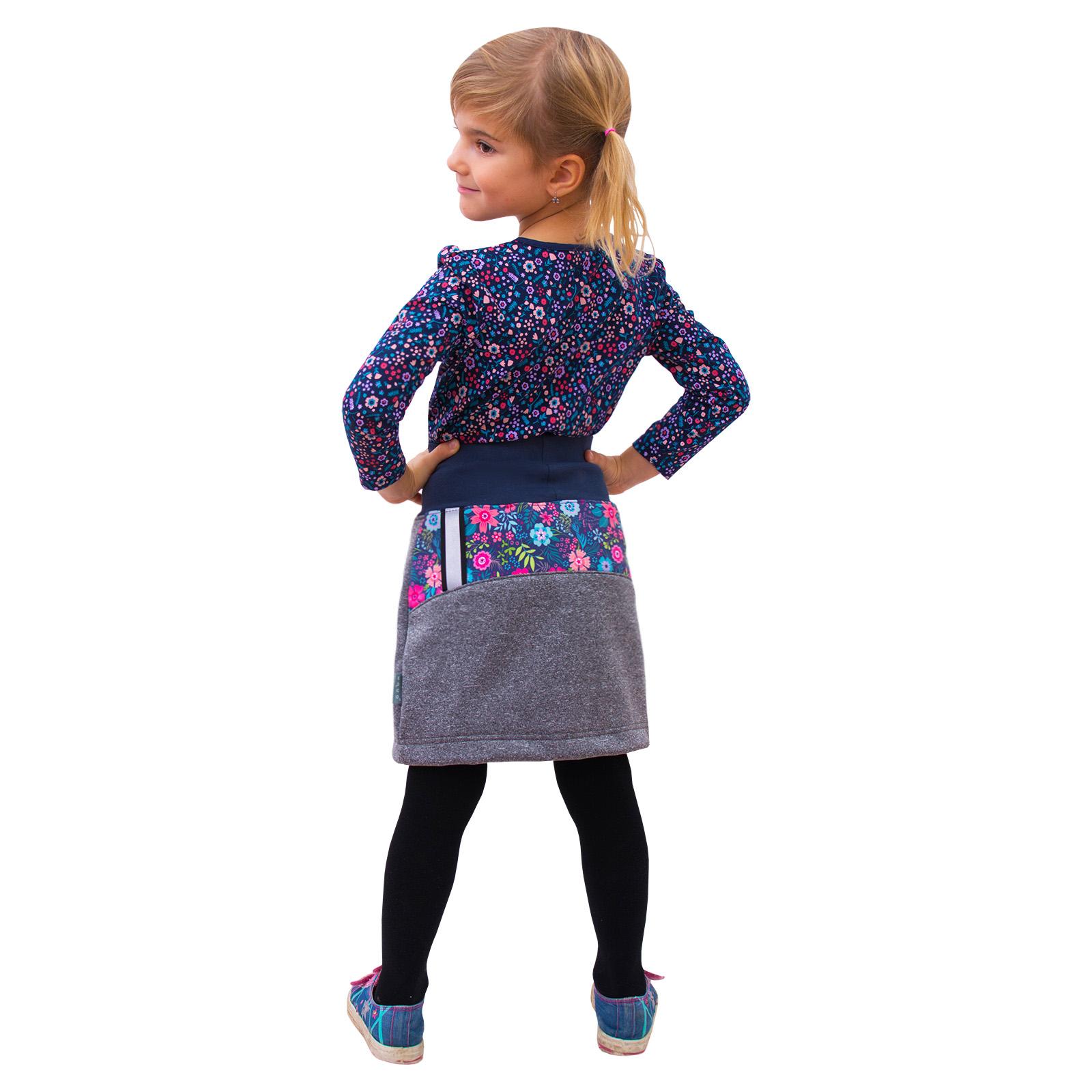 unuo Dětská softshellová sukně s fleecem Velikost UNI (Size): 104/110