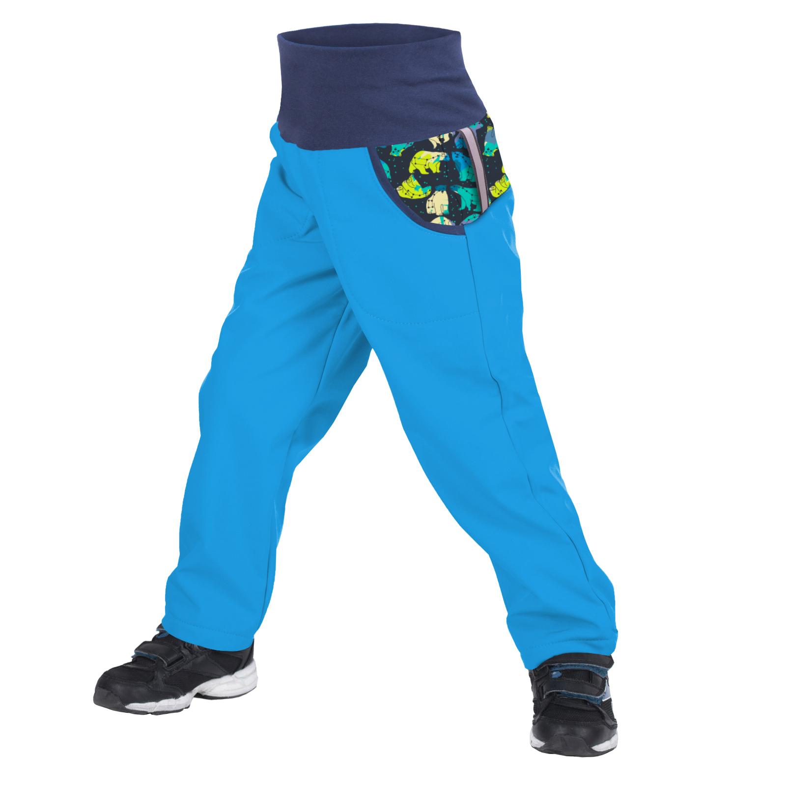 unuo softshellové kalhoty s fleecem Souhvězdí medvěda tyrkysové Velikost UNI (Size): 98/104