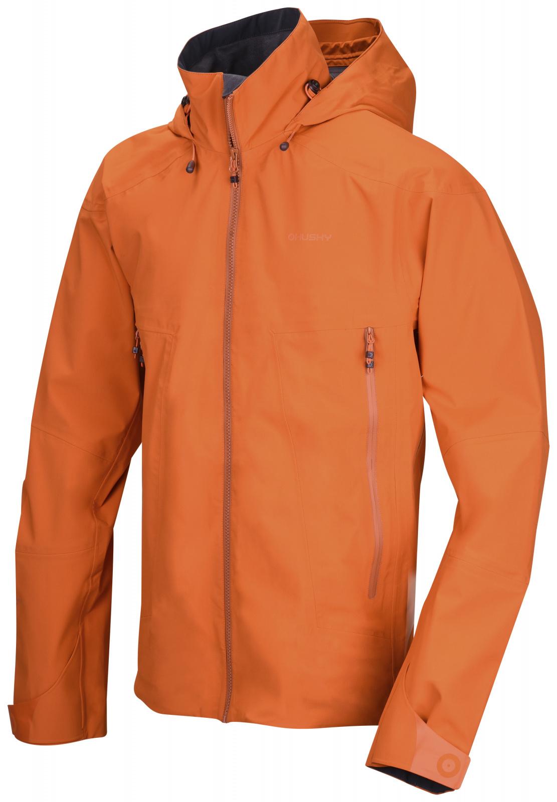 E-shop Husky Pánská outdoor bunda Nakron M tm. oranžová