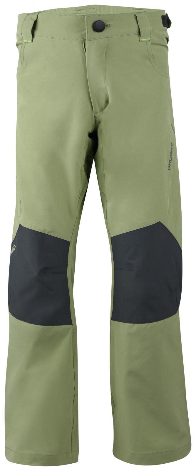 Husky Dětské outdoor kalhoty Zony K olivová Velikost: 152