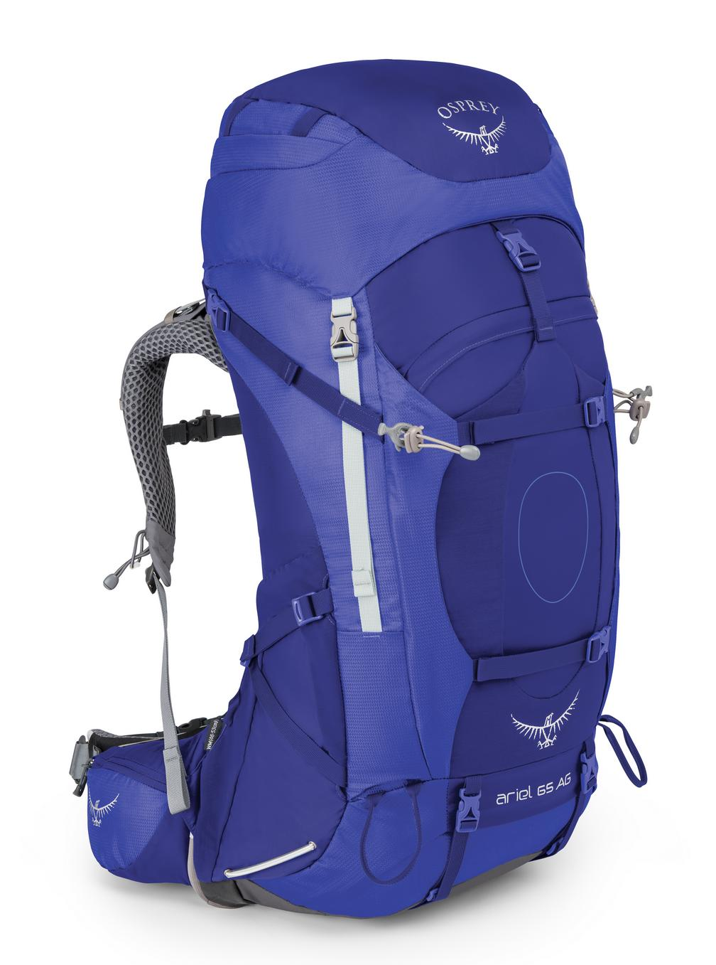 0a385625c3 Osprey ARIEL AG 65 - tidial blue Velikosti  M
