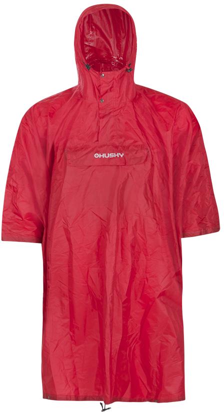 Husky pláštěnka Rafter červená Velikost: L-XL