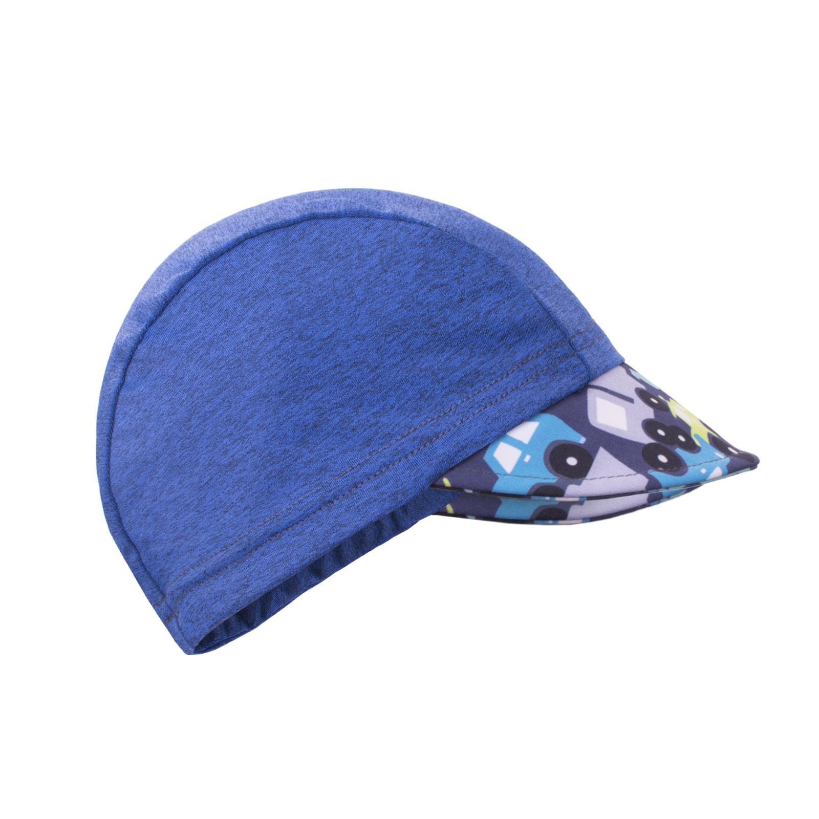 unuo Funkční čepice s kšiltem UV 50+ Autíčka, tm. modrá Velikost: S (45 - 48 cm)