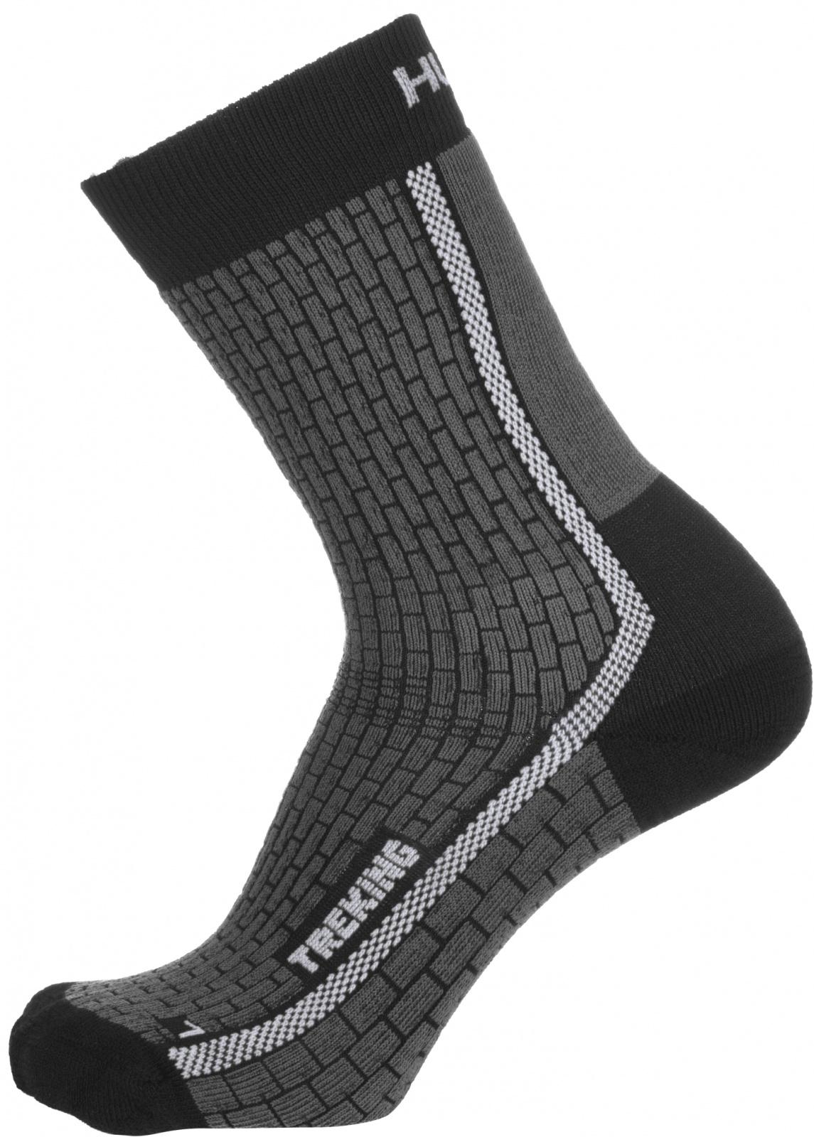 Husky Ponožky Treking antracit/šedá Velikost: M (36-40) ponožky