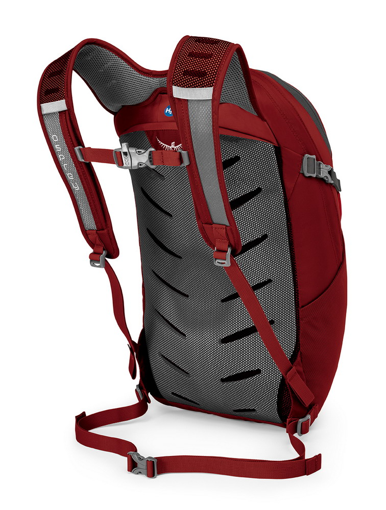 Osprey Daylite plus 20l real red - 1
