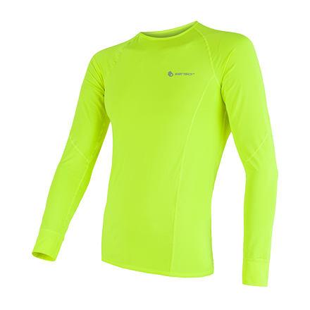 E-shop SENSOR COOLMAX FRESH pánské triko dl.rukáv žlutá reflex