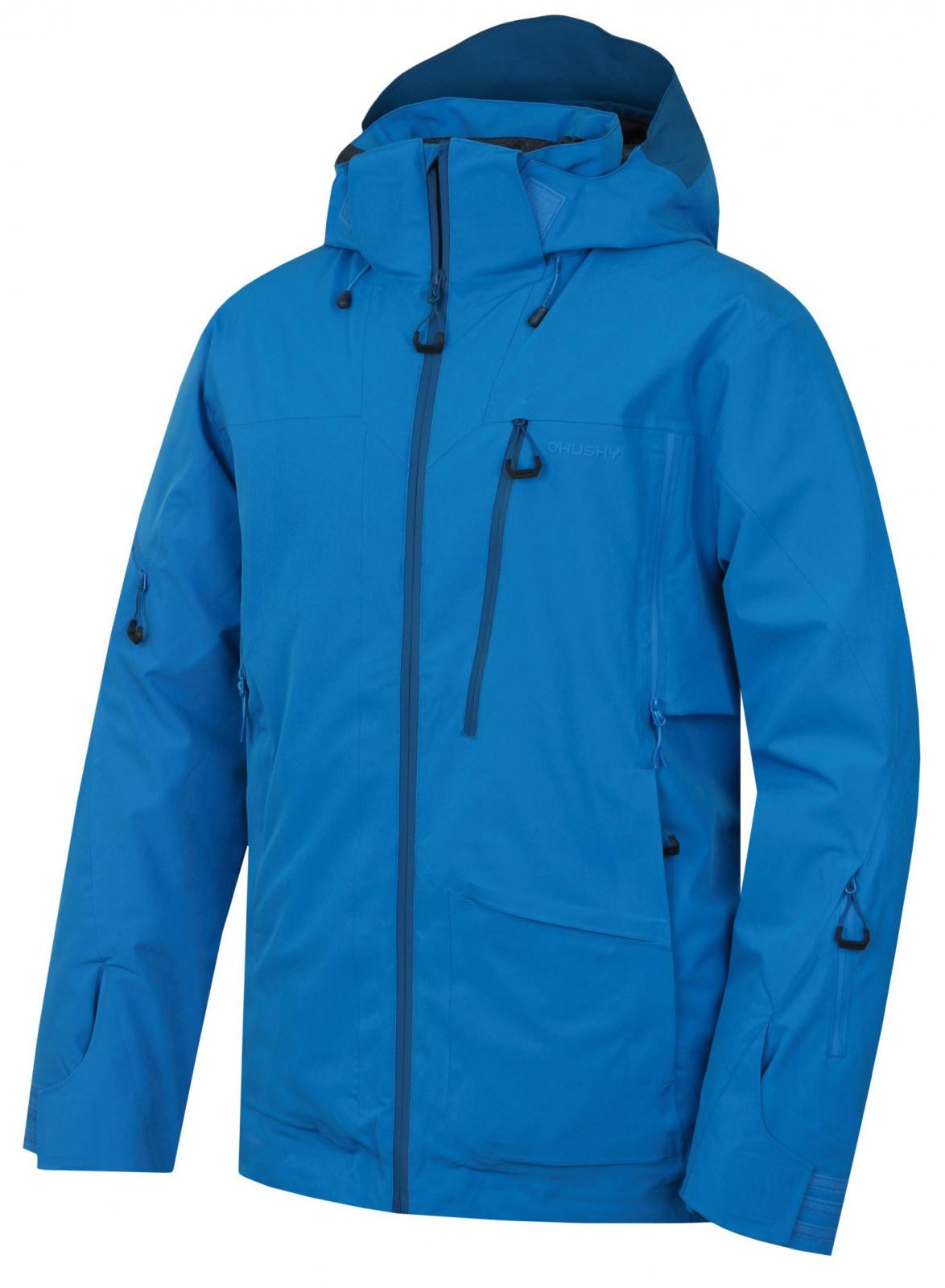 Husky Pánská lyžařská bunda Montry M modrá Velikost: M