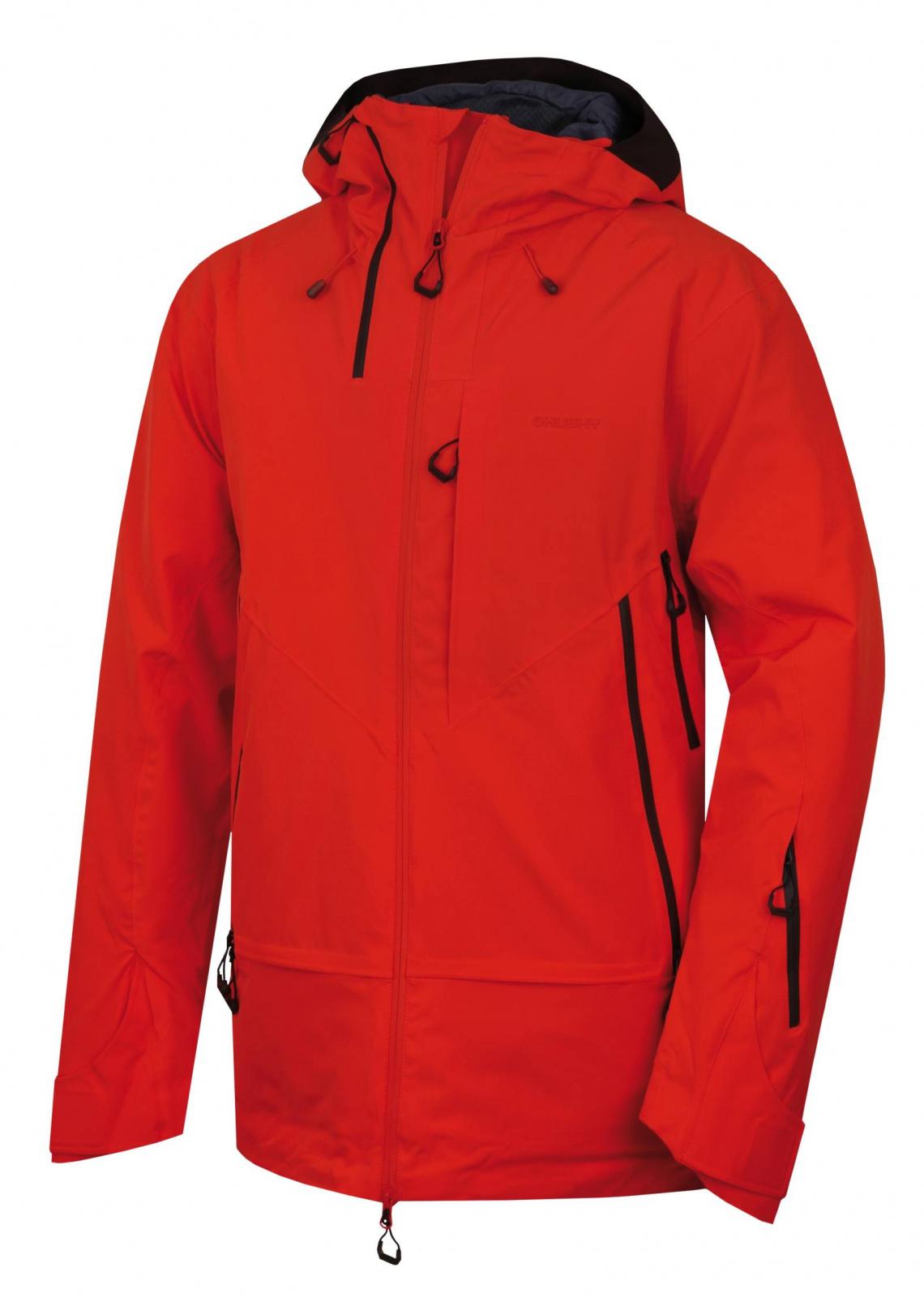 E-shop Husky Pánská hardshell bunda Gambola M výrazně červená