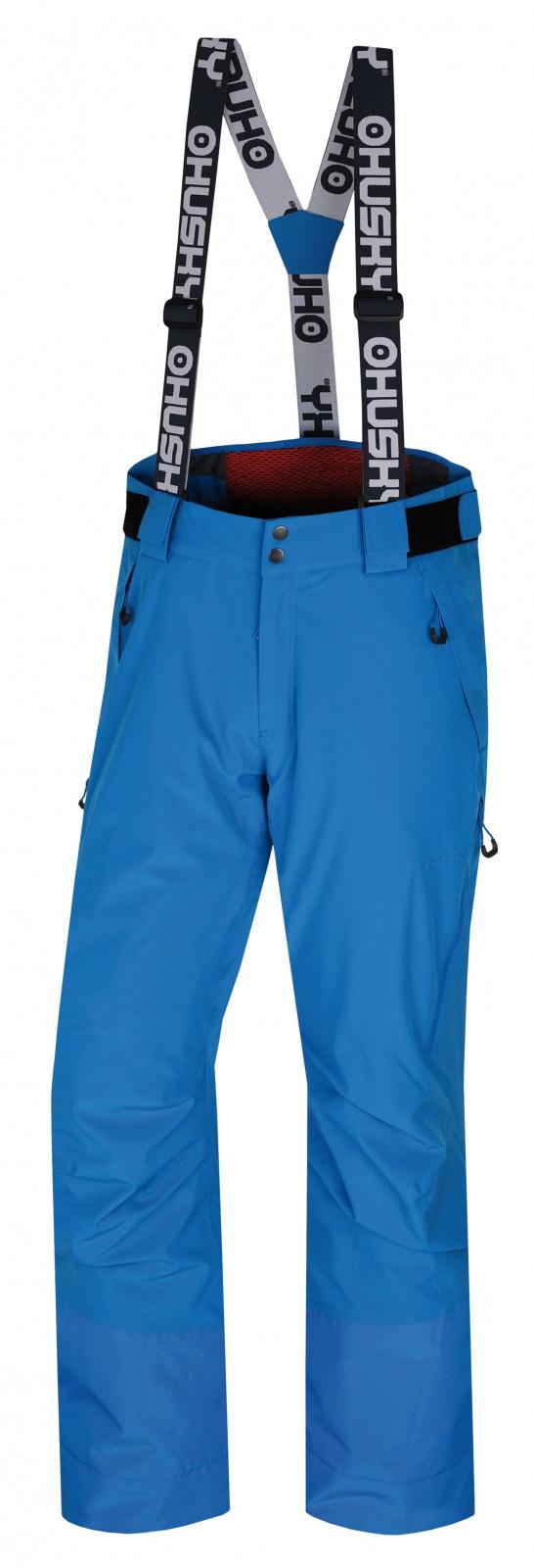 Husky Pánské lyžařské kalhoty Mitaly M modrá Velikost: XL