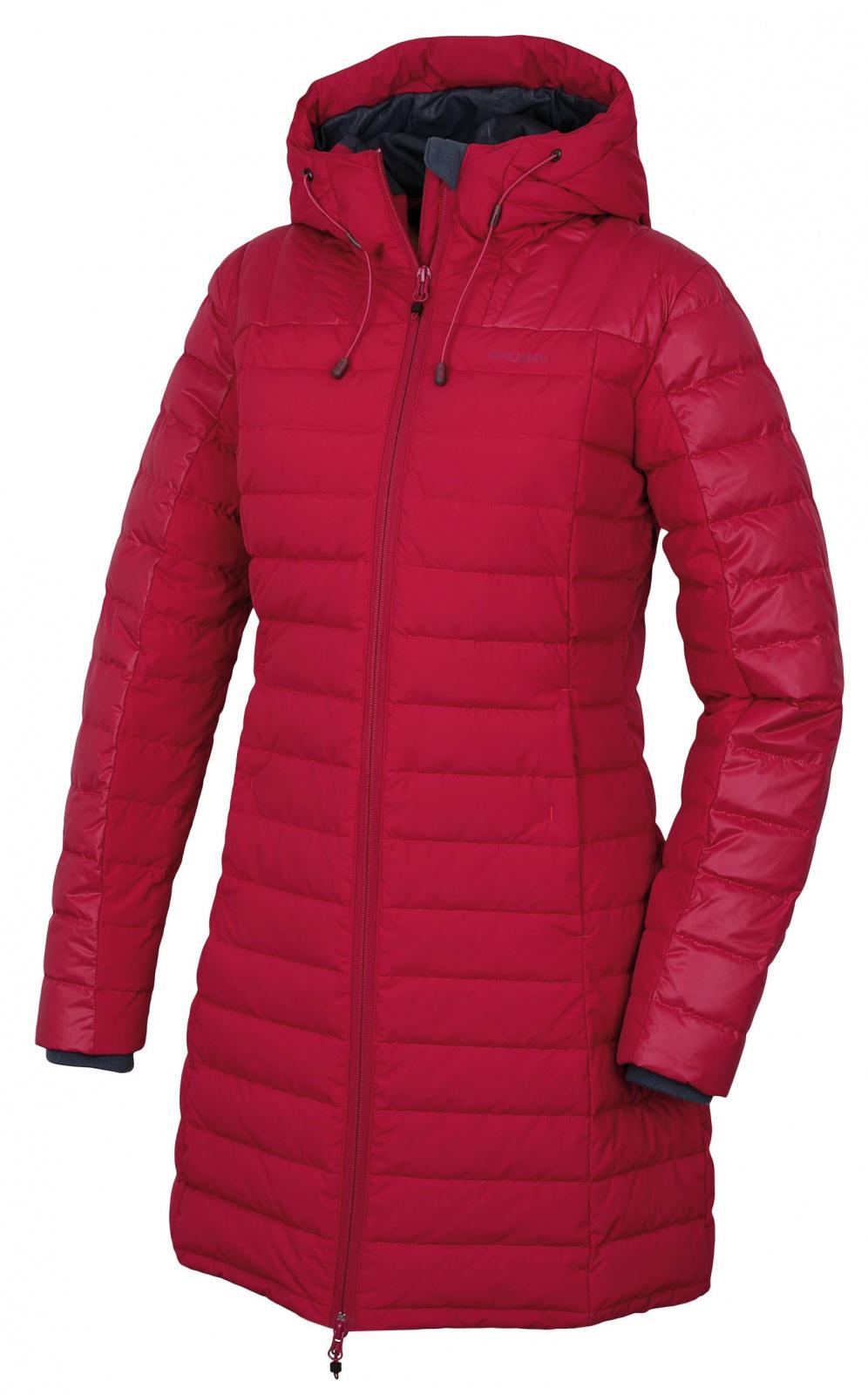 Husky Dámský péřový kabátek Daili L purpurová Velikost: XL
