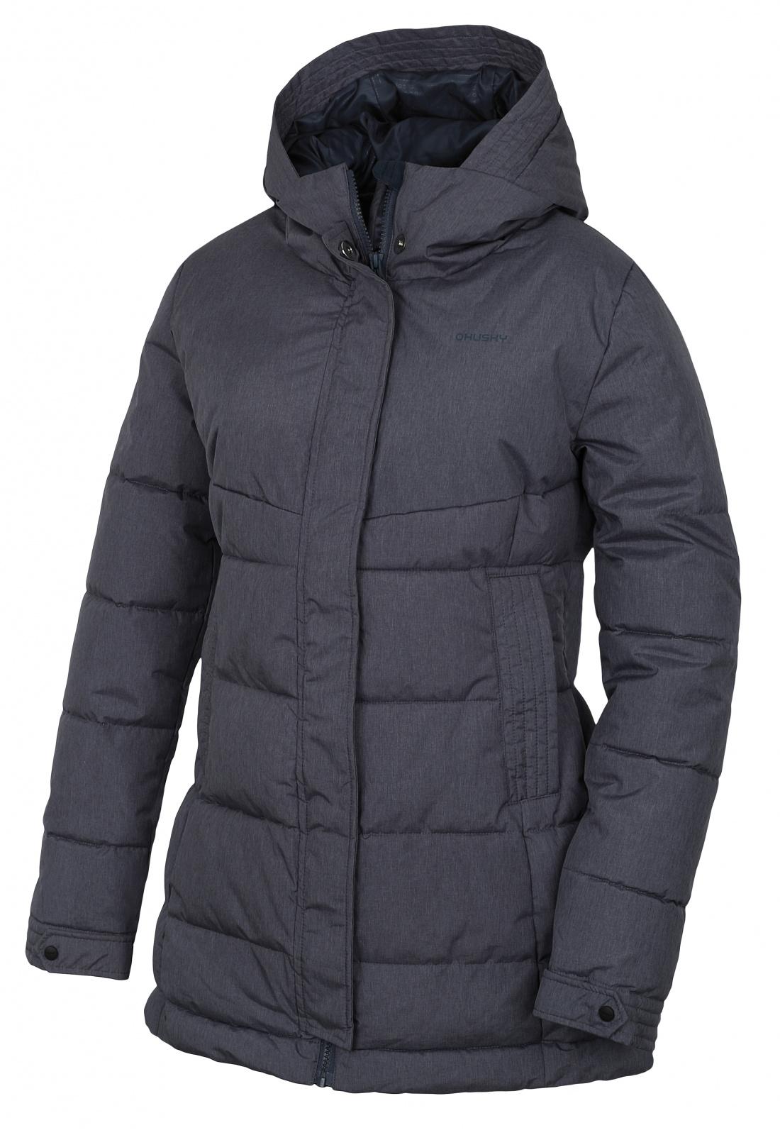 Husky Dámský hardshell plněný kabátek Nilit L antracit Velikost: S