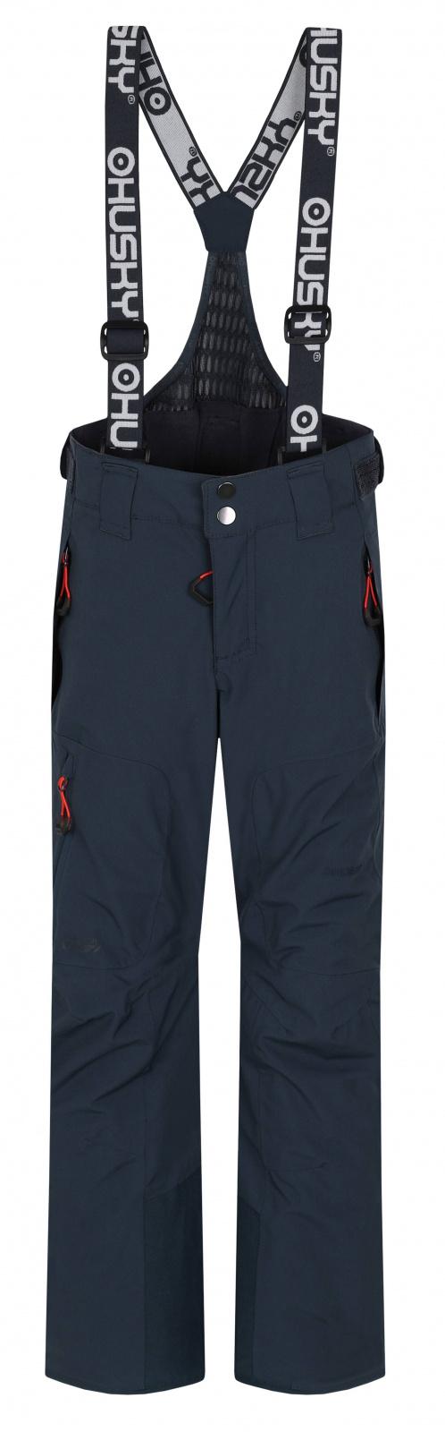 Husky Dětské lyžařské kalhoty Zeus Kids antracit Velikost: 164-170