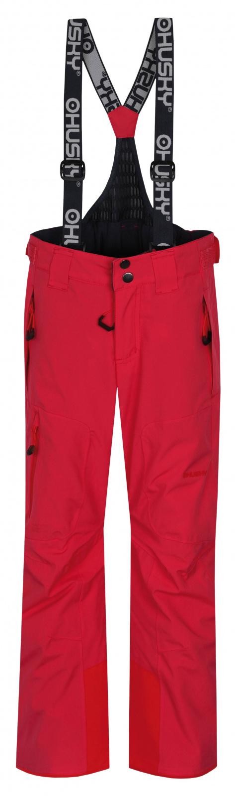 Husky Dětské lyžařské kalhoty Zeus Kids výrazně růžová Velikost: 164-170