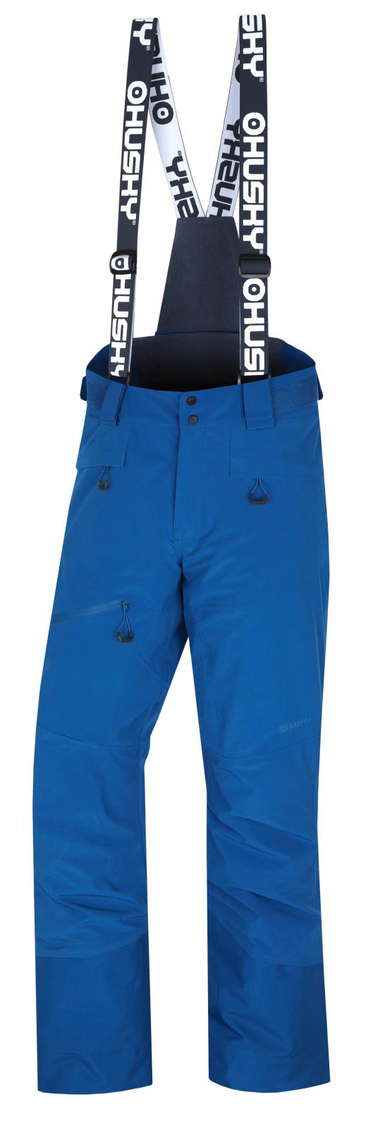 Husky Pánské lyžařské kalhoty Gilep M tm. modrá Velikost: XL