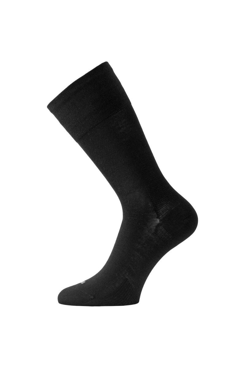 E-shop Lasting merino ponožky FWL černé