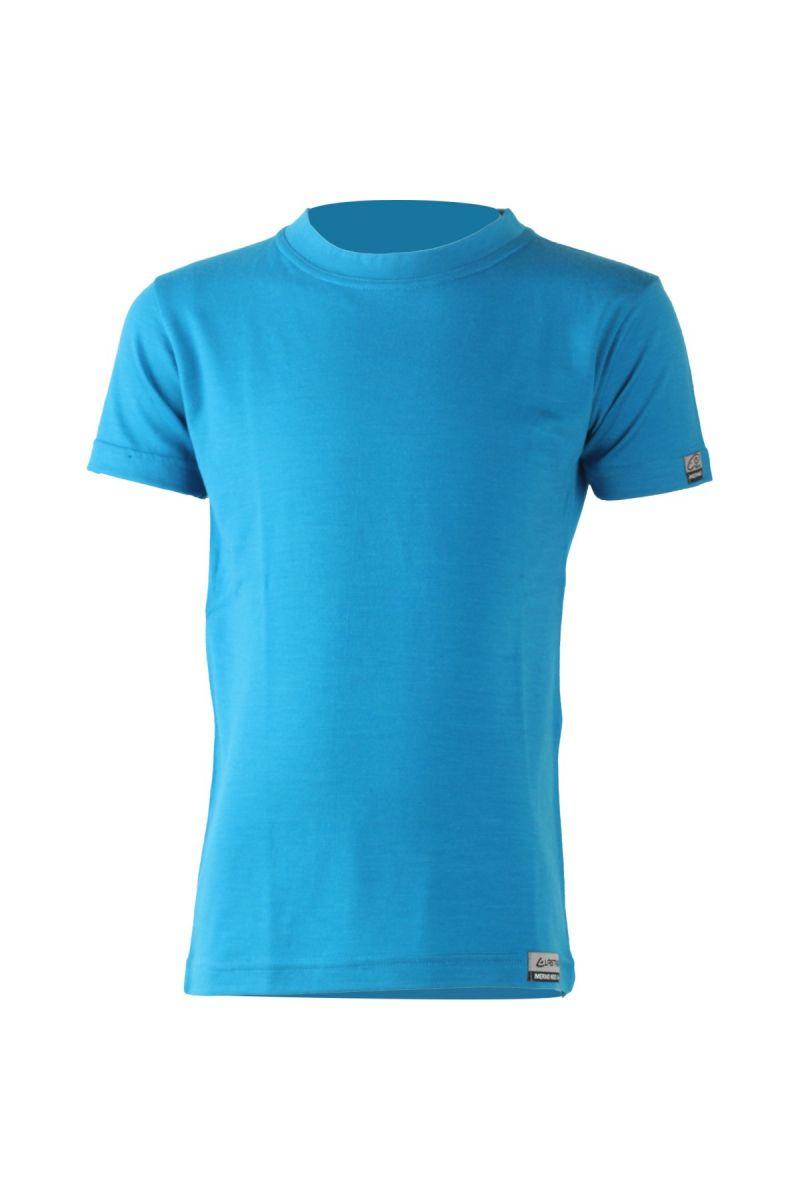 Lasting dětské merino triko TONY modré Velikost: 110