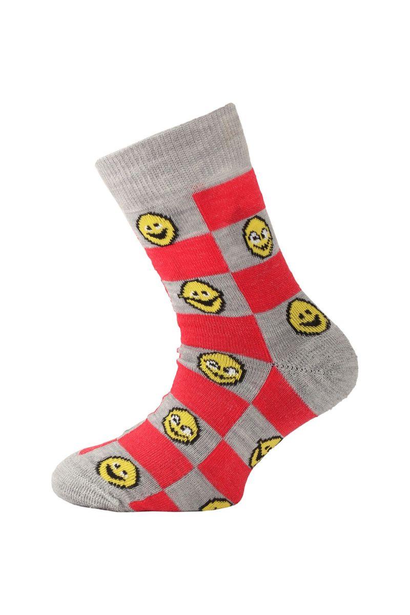 E-shop Lasting dětské merino ponožky TJE červené