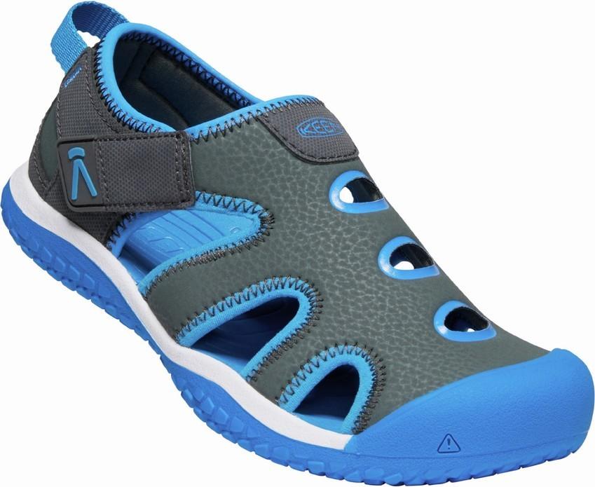 Keen STINGRAY Jr - magnet/brilliant blue Velikost: 37 dětské boty