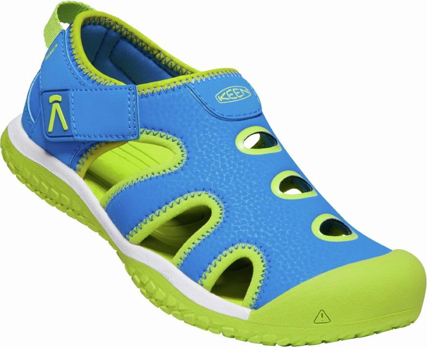 Keen STINGRAY Jr - brilliant blue/chartreuse Velikost: 37 dětské boty