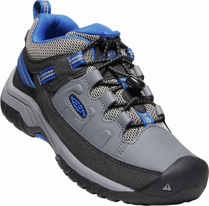 Keen TARGHEE low wp JR - steel grey/baleine blue Velikost: 37 dámské boty