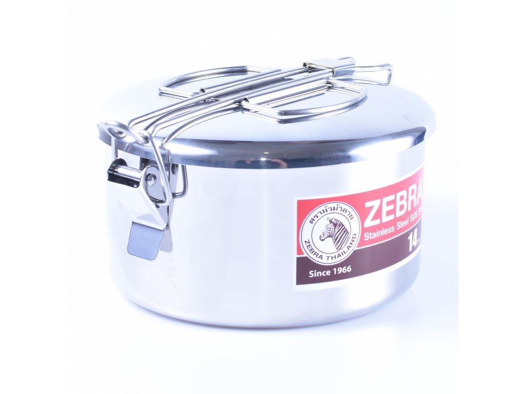 Levně Třídílná sada nerez nádobí ZEBRA Camping Pot 14