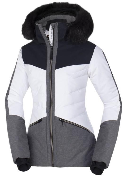 Northfinder dámská lyžařská bunda Drewinesta Black-white BU-47941SNW-279 Velikost: XS