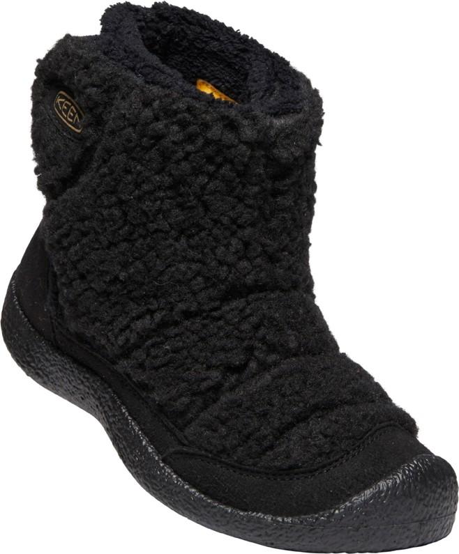 Keen HOWSER II MID Jr fuwafuwa black Velikost: 37 dětské boty
