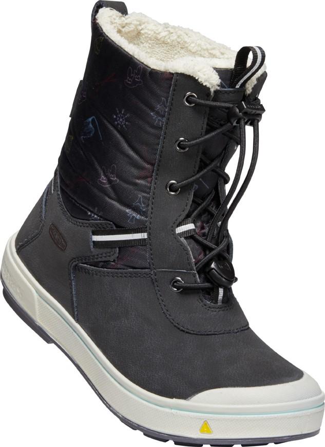 Keen KELSA TALL WP Jr black/tibetan red Velikost: 37 dětské boty